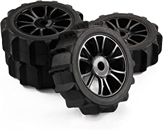 Yiguo 4pcs 1 8 Scale RC Off Road Baja Buggy Snow Sand Paddle Tires Tyre and Wheels for HSP HPI
