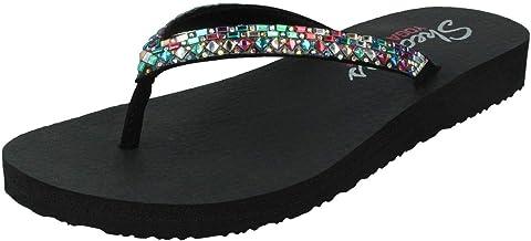 Amazon.com: skechers yoga foam flip flops