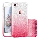 ESR Coque pour iPhone 7, Coque Silicone Paillette Strass Brillante Glitter de, Bumper...