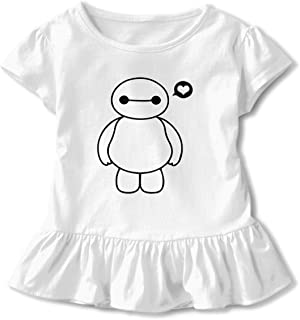 Personalized Bay-max_Picture Kids Girls Shirts O-Neck