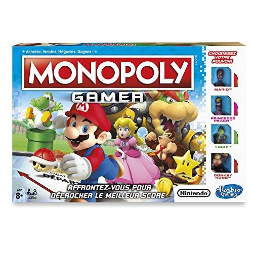 Hasbro Monopoly Gamer Niños Simulación económica - Juego de tablero (Simulación económica, Niños, Niño/niña, 8 año(s), Francés, Francés)