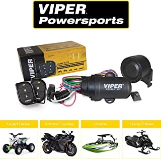 Directed Electronics Viper 3121V Powersport Alarm Comes with Two Compact, Waterproof, 2-Button Remotes Perfect for Your ATV/UTV, Watercraft, or Motorcycle