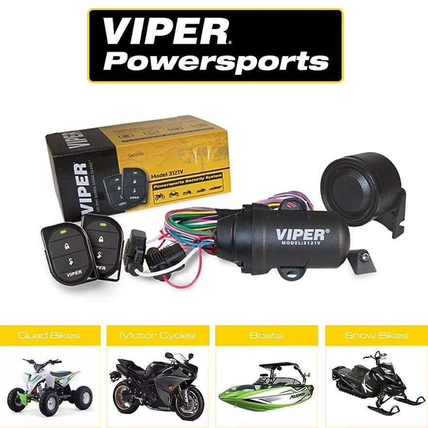 生理アプトシングルオートバイ バイク ボート スノーバイク 4輪バイク 等用 セキュリティシステム VIPER バイパー 3121V 防水仕様 小型リモコン 小型サイレン 小型本体ユニット