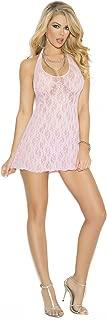 Women's Lace Halter Mini Dress