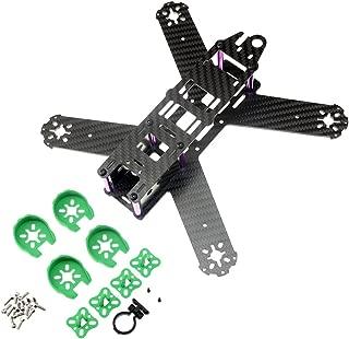 QAV210 FPV frame Mini 210mm Carbon Fiber with Motor Protection Cover Mount Seat Quadcopter Frame For Lisam LS-210 QAV210 Accessories