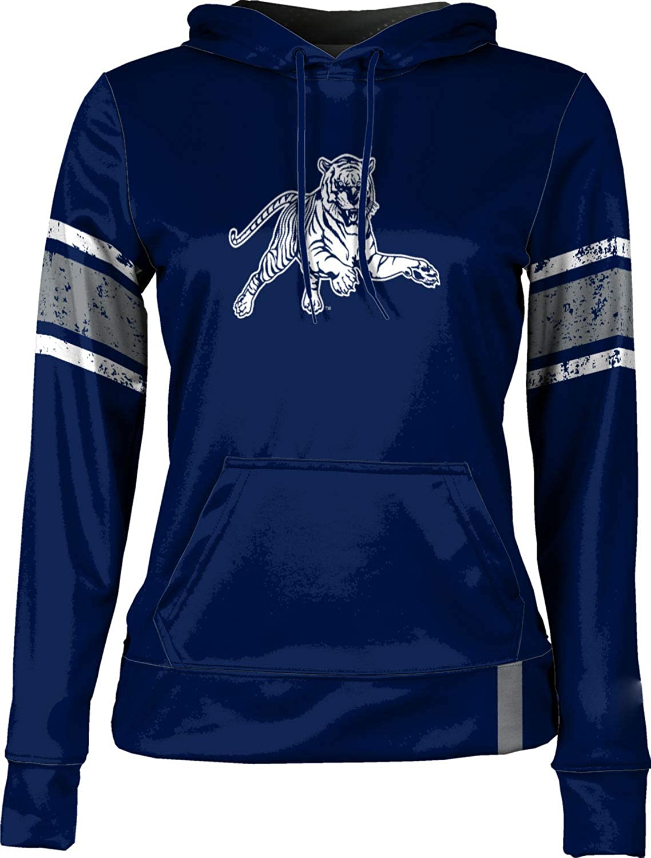 Jackson State University Girls' Pullover Hoodie, School Spirit Sweatshirt (End Zone)