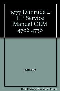 1977 Evinrude 4 HP Service Manual OEM 4706 4736