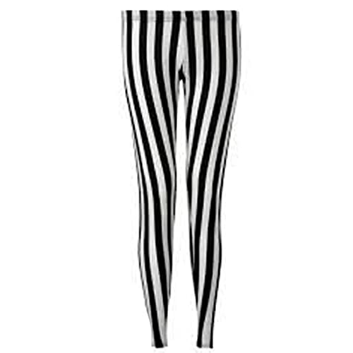 d6d79e22b6 WearAll New Ladies Black Stripe Plus Leggings Stretch Full Length  Elasticated Sizes 12-26