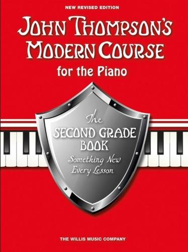 John Thompson's Modern Course For Piano: The Second Grade Book (Revised Edition): Noten, CD für Klavier