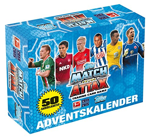 Topps TO00924 - Adventskalender 2014 Match Attax