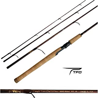 Temple Fork Outfitters BLACKFLY/TFO MANGROVE SPIN ROD 9' 4 PC