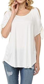 28982d05e55 Amazon.com: Ivory - Tunics / Tops, Tees & Blouses: Clothing, Shoes ...