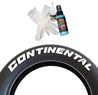 continental tire stickers