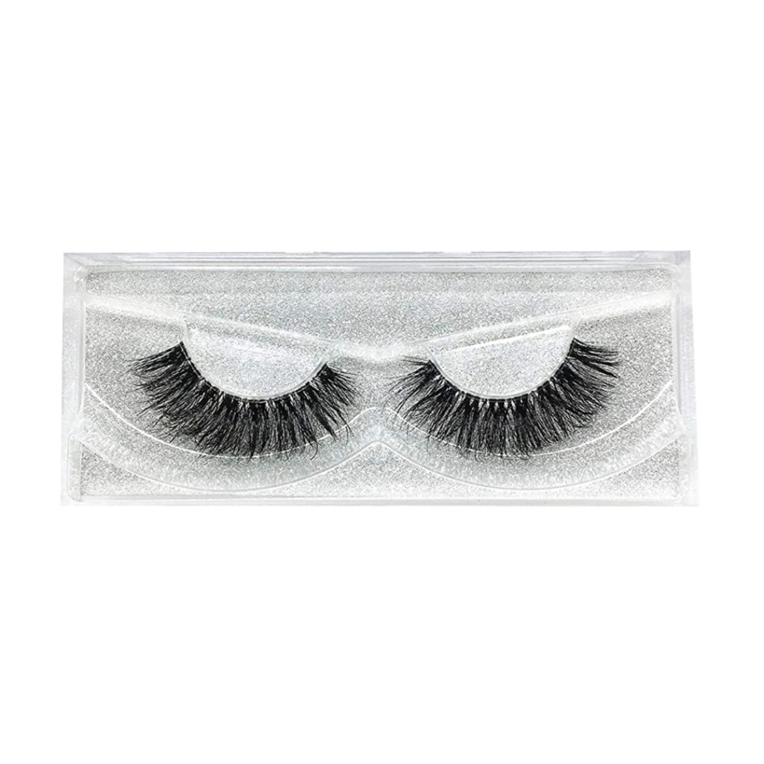 してはいけません固める削減Dream つけまつげ 人工繊維製 極薄 まつげ 自然 3D 大きい目 ふんわりロングまつ毛 (C)