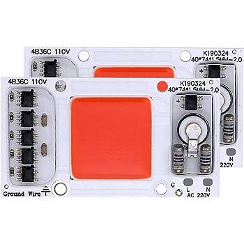 LED Lens 240V 220V Lens Reflector Collimator Smart IC Drive DIY LED COB Chip