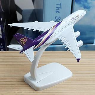 16cmタイ航空A380飛行機模型合金模型航空模型飛行機タイ航空A380飛行機模型ブースモデル1:400