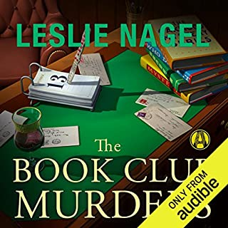 The Book Club Murders                   By:                                                                                                                                 Leslie Nagel                               Narrated by:                                                                                                                                 Dina Pearlman                      Length: 8 hrs and 38 mins     5 ratings     Overall 4.0