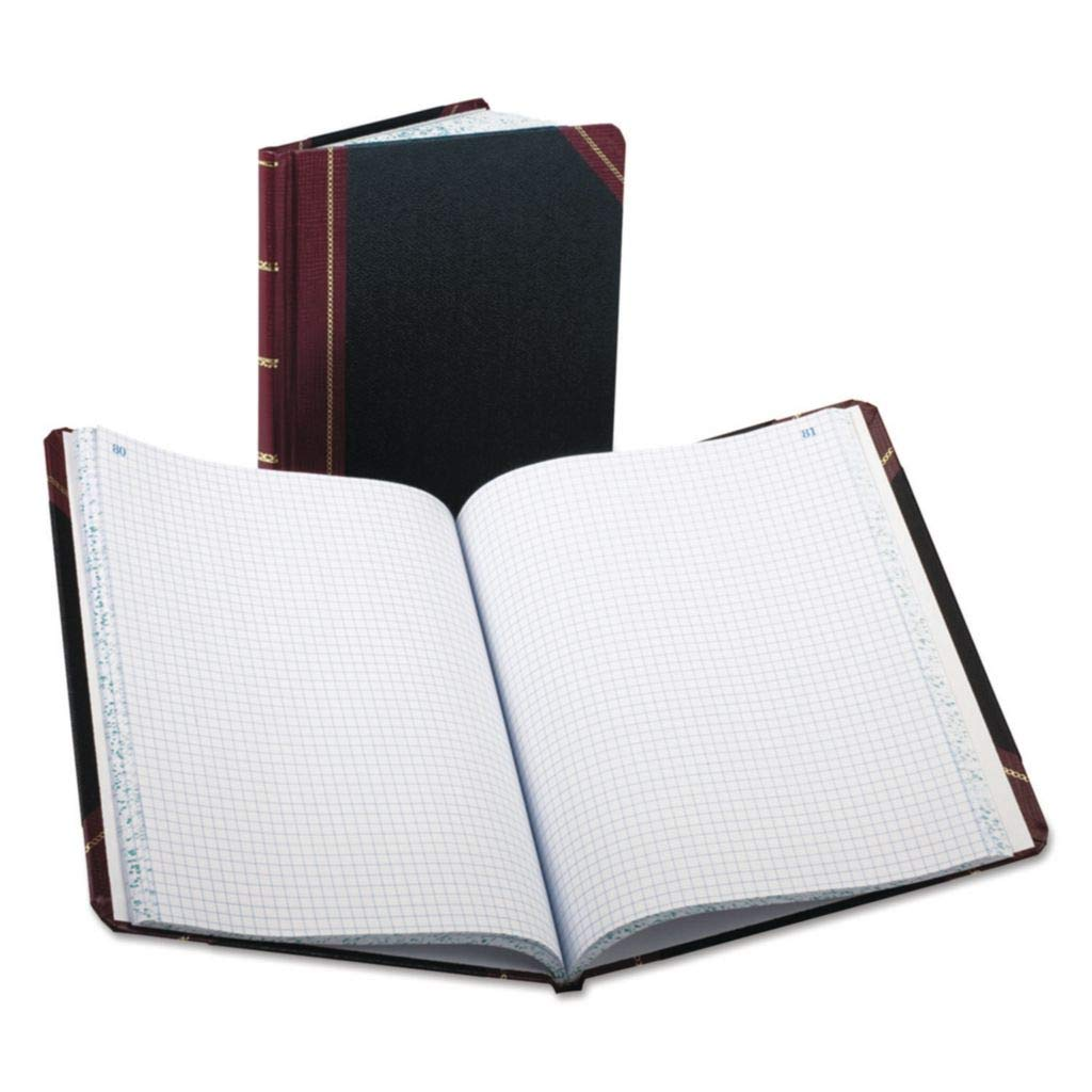 Oakland Mall BOR2515012 - Black online shopping Red Pease Extra-Durable Bookstyle Boorum