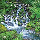 Oregon Wild & Scenic 2021 7 x 7 Inch Monthly Mini Wall Calendar, USA United States of America Pacific West State Nature