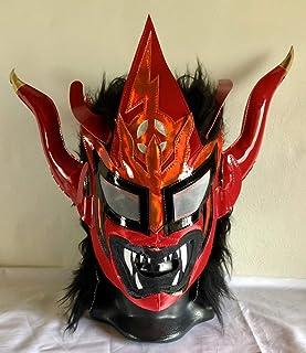 獣神サンダー・ライガー ふわふわ応援マスク オレンジ メキシコ製 プロレス ルチャリブレ [並行輸入品]