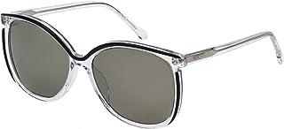 Loewe - SLW963M56888X Gafas de sol, Top Black/Crystal, 56 para Mujer
