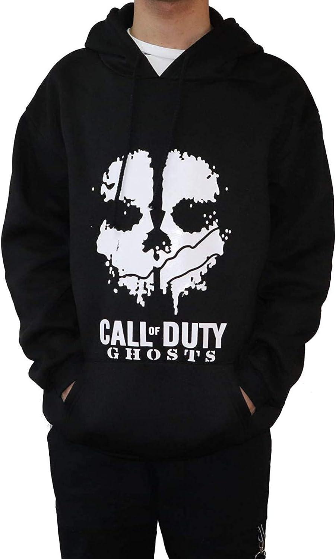 17. Call of Duty Skull Ghosts Hooded Hoodie Sweatshirt