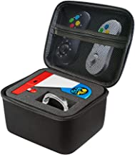 Neo Geo Mini SNK Carrying Case for Hard Portable Protective Bag Black Travel Bag with Handle Compatible with NEOGEO Mini Japan Game Console SNK & Accessories by NZACE