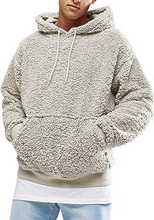 Pl/üschjacke Mit Kapuze Sweatshirt Oversize Pullover Teddy-Fleece Mantel Warm Kapuzenpulli Langarmshirt Lialbert Damen Herbst Winter Kapuzenpullover Teddy-Fleece Hoodie