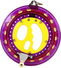 Mint's Colorful Life Kite String Reel Winder 7inches Dia with 600 feet Line (60 lbs) for Kids/Teens, Purple