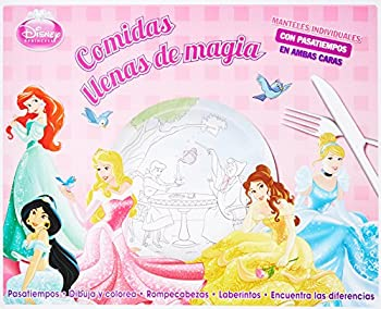 Paperback MANTELES INDIVIDUALES: DISNEY PRINCESA COMIDAS LLENAS DE MAGIA Book