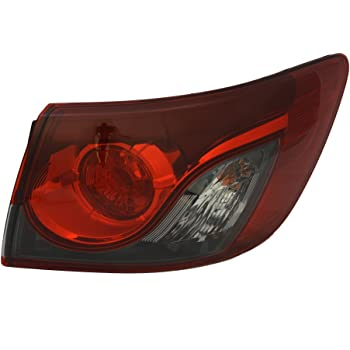 TYC 11-6575-00 Mazda CX-9 Left Replacement Tail Lamp