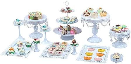 Efavormart 21 Gold Metal Tiered Cupcake Stand 3 Tier Dessert Stand Cupcake Holder
