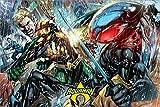 DC Comics PP34456 Poster, Mehrfarbig, Maxi