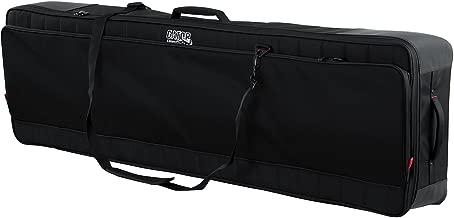 Gator Cases Pro-Go Ultimate Keyboard Gig Bag with Removable Backpack Straps; Fits Slim 88-Note Keyboards (G-PG-88SLIM)