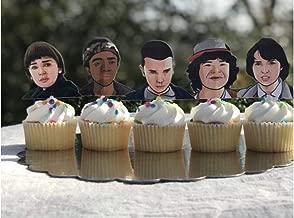 Stranger Things Cupcake Toppers/Stranger Things Toppers/Stranger Things Party Supplies/Stranger Things Birthday Party/Stranger Things Theme/Stranger Things/Stranger Things Inspired
