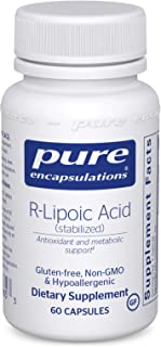 Pure Encapsulations - R-Lipoic Acid (Stabilized) - Hypoallergenic Supplement with Enhanced Antioxidant Protection and Meta...
