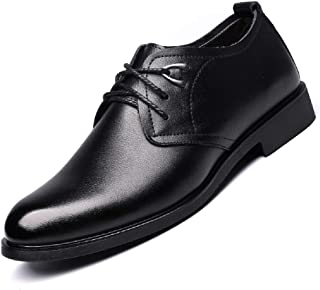 [RIBONGZ] レースアップ 革靴 メンズ ビジネスシューズ 紳士靴 メンズ 外羽根