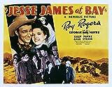 Jesse James at Bay Movie Poster Masterprint (71,12 x 55,88