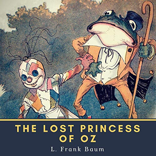 The Lost Princess of Oz copertina