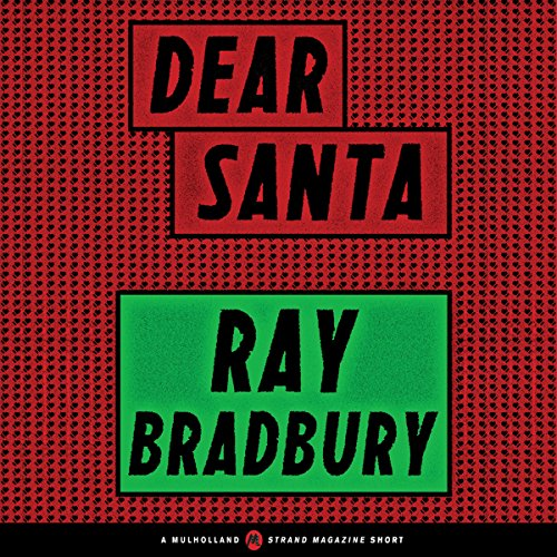 Dear Santa audiobook cover art