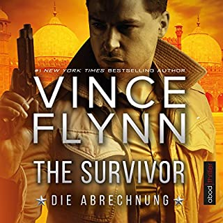 The Survivor: Die Abrechnung (Mitch Rapp 14) audiobook cover art