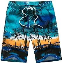 Lontime Summer Beach Men's Shorts Printing Casual Shorts Mens Short Pants