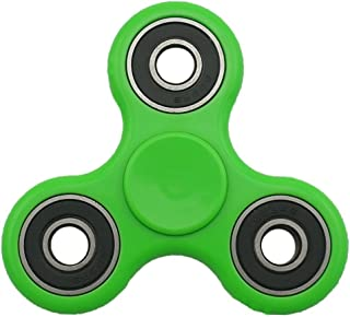 SMAZ TOYS Anti-anxiety Fidget Spinner Toy Helps Focusings EDC Focus Toy for Kids and Adults -Best Stress Reducer Relieves ADHD Anxiety and Boredom -Green