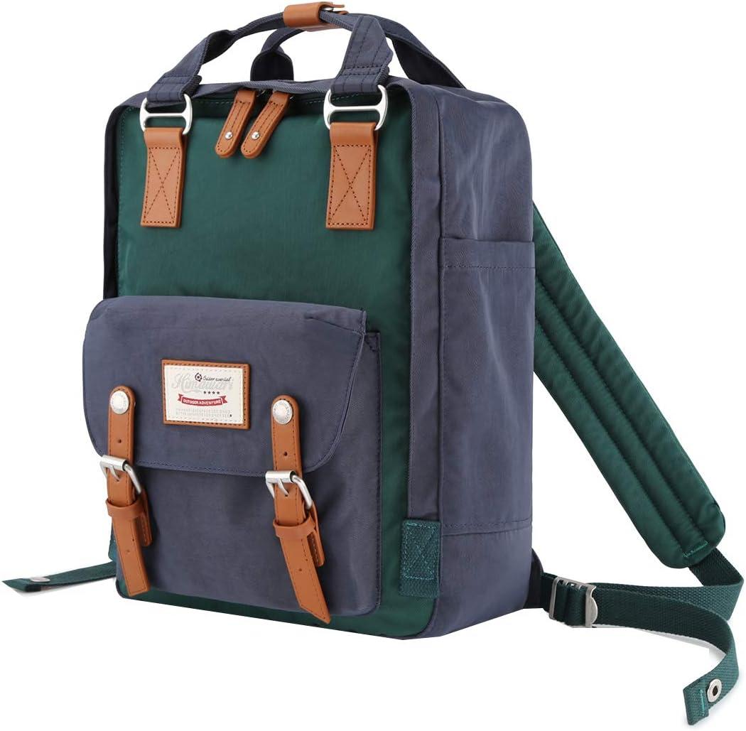 Himawari School Waterproof Backpack 14.9 College Vintage Travel Bag for Women,14 inch Laptop for Student HIM-67#