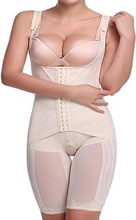 vobome Frauen Casual Korsett Taille Training Shaper Body Shapewear Underbust G/ürtel Formende Bodys M-5XL