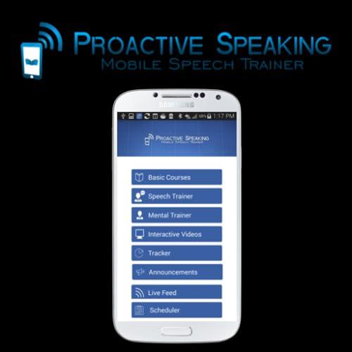 How to Stop Stuttering-Proactive Speaking Mobile Speech Trainer