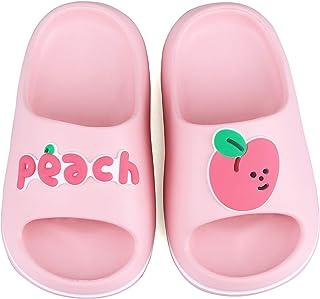 Chaussons Enfants Chaussures Fille Garçon Eté Antidérapant Plates Pantoufles Pantoufles de Piscine Pantoufles aux Fruits