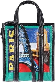 Luxury Fashion   Balenciaga Womens 452458DE9XN3460O Green Handbag   Season Permanent