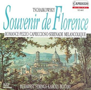 Tchaikovsky, P.I.: Souvenir De Florence / Valse-Scherzo / Serenade Melancolique / Pezzo Capriccioso / Romance