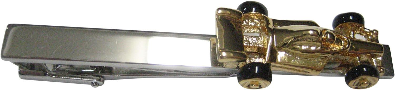 Kiola Designs Gold Toned F1 Race Car Tie Clip
